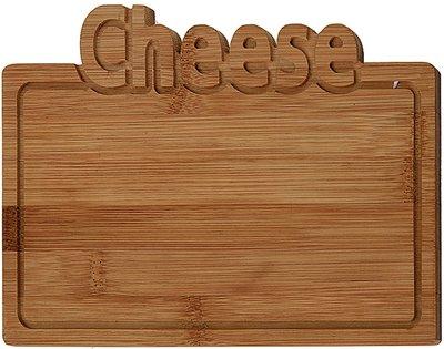 Bamboe snijplank -Cheese - 25x17cm